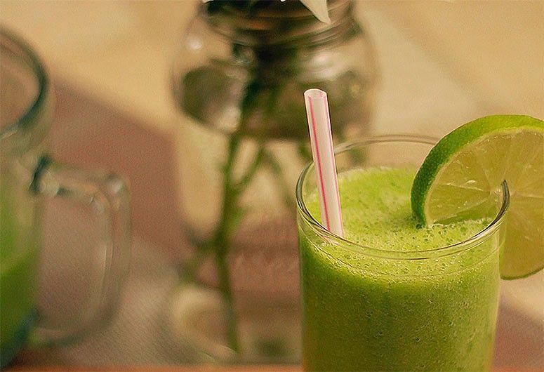 Suco verde. Foto: Reprodução / Pequenina Vanilla