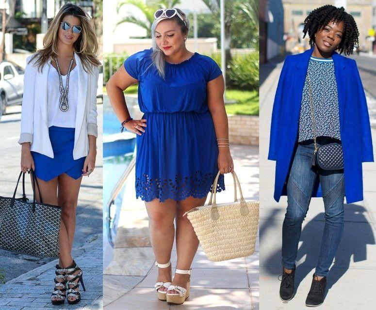 cb6fe3eec Saiba como criar looks atuais e elegantes com a cor azul royal!