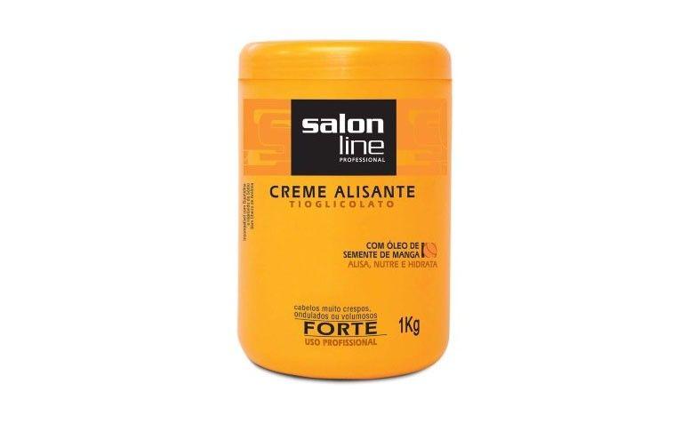 Creme Alisante Tioglicolato Salon Line por R$40,99 no Walmart