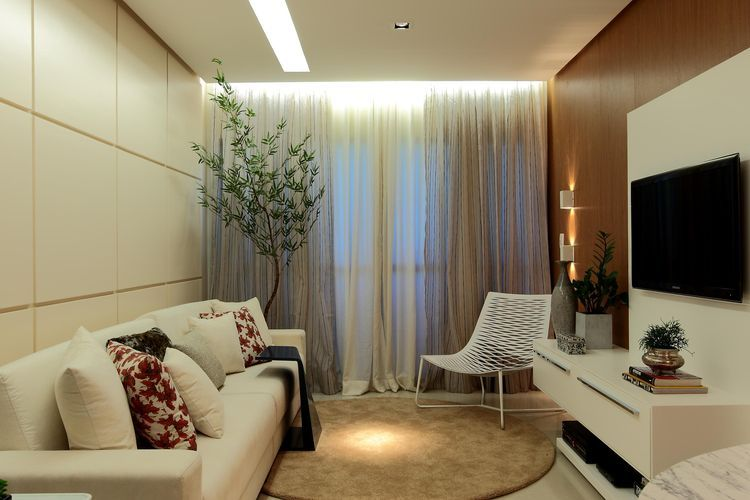 Decora o para sala 100 ideias para te inspirar e dicas for Salas en l modernas