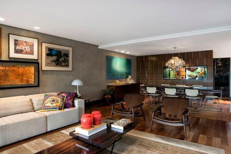 Decora o para sala 100 ideias para te inspirar e dicas for Fotos salas modernas