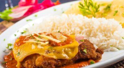 13 receitas de bife à parmegiana com cara de prato de restaurante