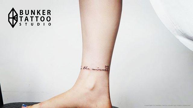 Tatuagem Do Bts: Tatuagem No Tornozelo: 80+ Ideias Criativas De Desenhos