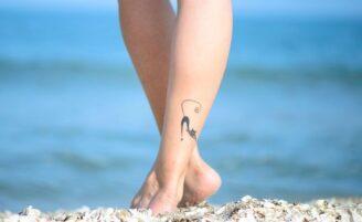 80 ideias criativas de desenhos para tatuagens no tornozelo