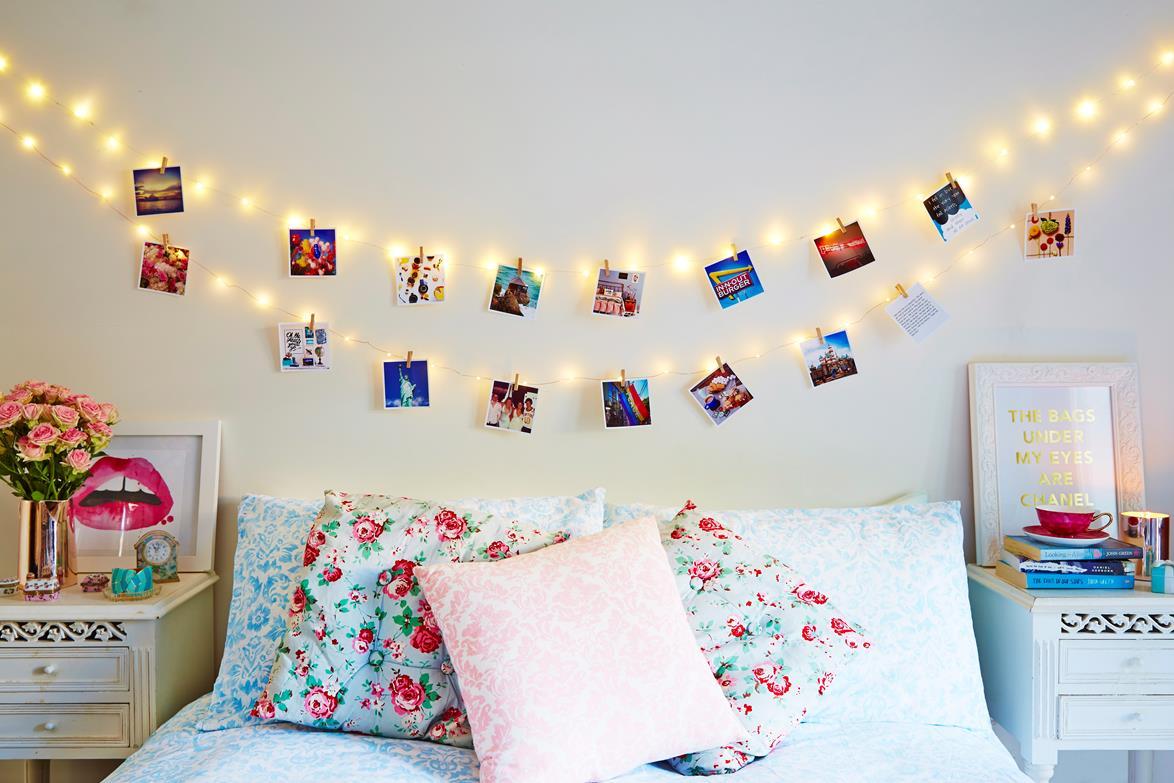 Diy Teenage Bedroom Ideas Varal De Fotos 10 Modelos Lindos Para Fazer Em Casa