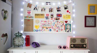 10 ideias lindas e fáceis para decorar sua casa com varal de fotos