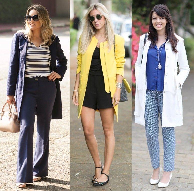 Foto: Reprodução / Moda no Trabalho / Glam4you / Just Lia
