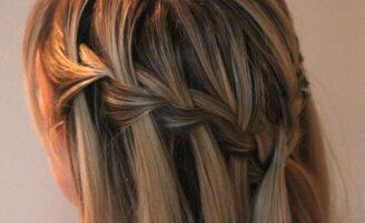Trança cascata: tutoriais fáceis e encantadores para arrasar no penteado