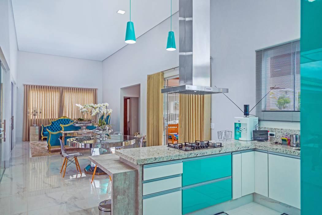 Cozinhas Coloridas 85 Fotos De Cozinhas Alegres E Lindas
