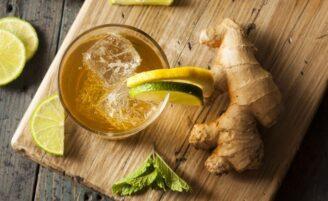 Água de gengibre emagrece e ajuda na digestão: aprenda a receita