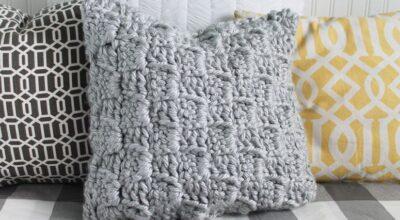 Almofadas de crochê: 20 modelos encantadores para você fazer em casa