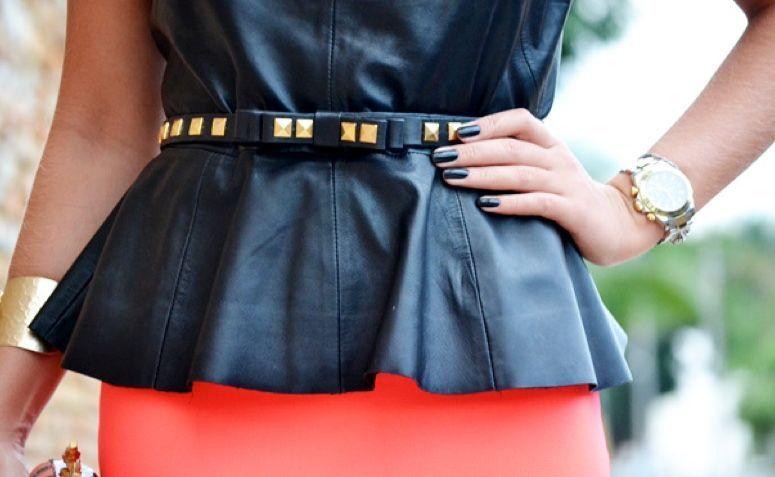 7ff1e415bc Peplum  a modelagem perfeita para um visual feminino e elegante