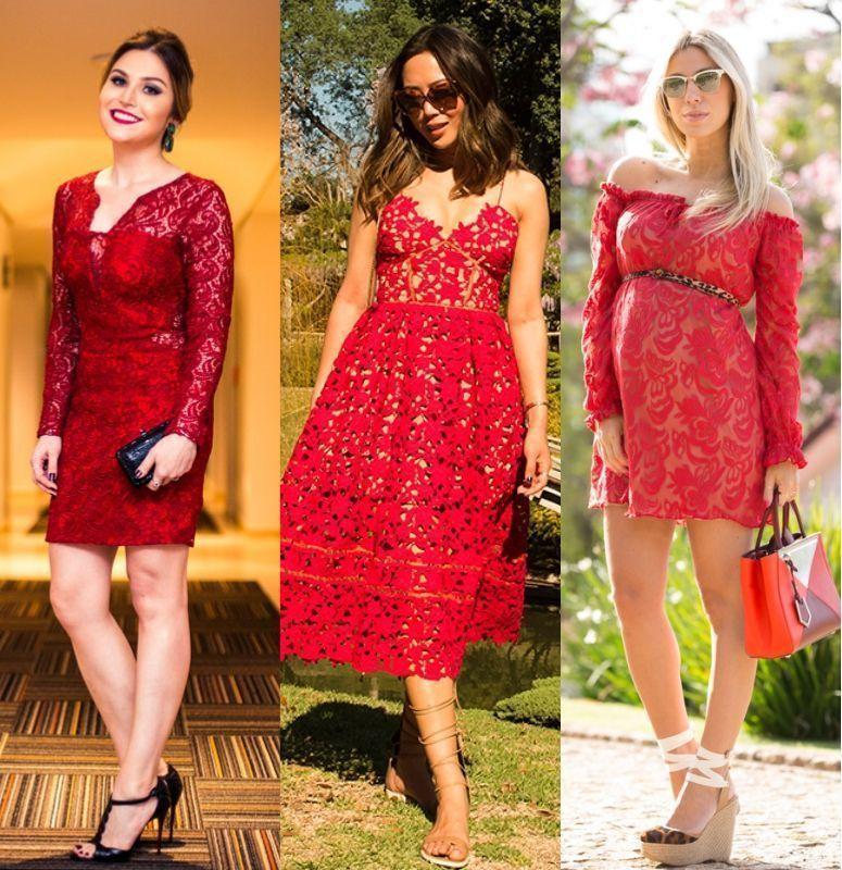 ea2c7c41f3 Vestido vermelho  como criar looks elegantes e modernos com essa cor ...