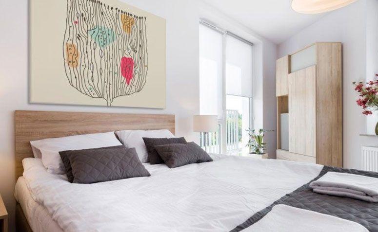 Decoração de Quarto cama grande