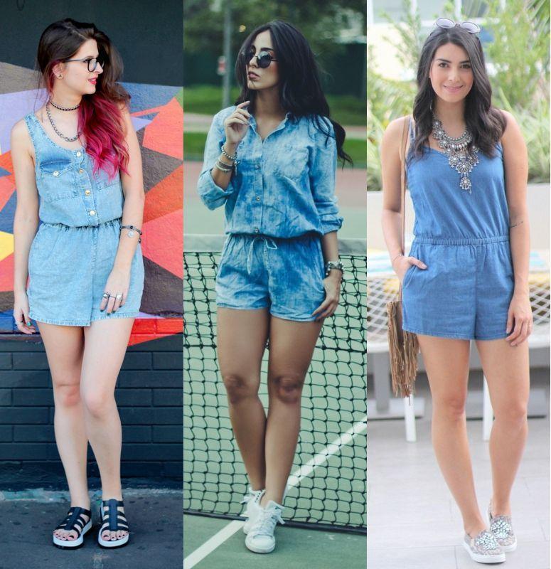 e0b63c84d9a2c9 Macaquinho jeans: a peça coringa para looks estilosos e confortáveis