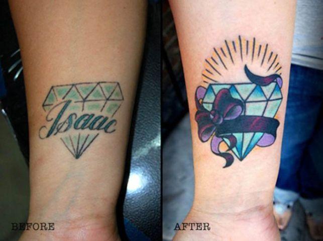 Preferência 20 ideias criativas para cobrir aquela tatuagem péssima com o nome  TG35
