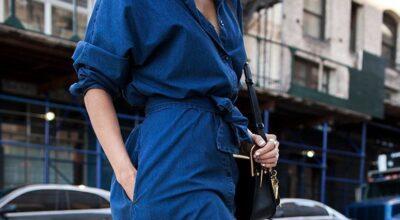 Vestido jeans: a peça curinga para looks confortáveis e estilosos
