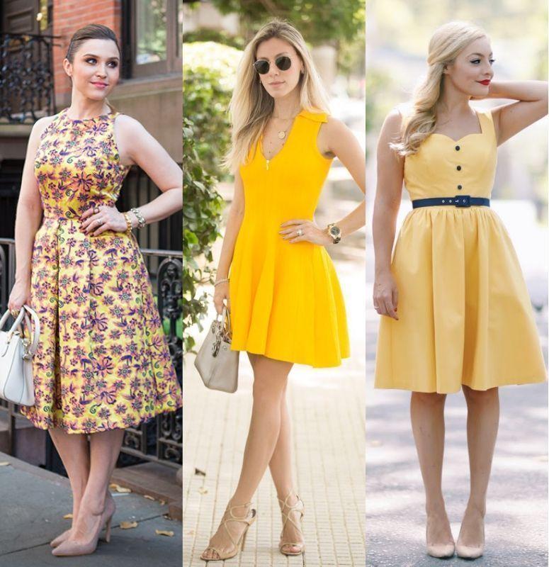 96dcd0bf8 Vestido amarelo: como criar looks nada óbvios com essa cor quente