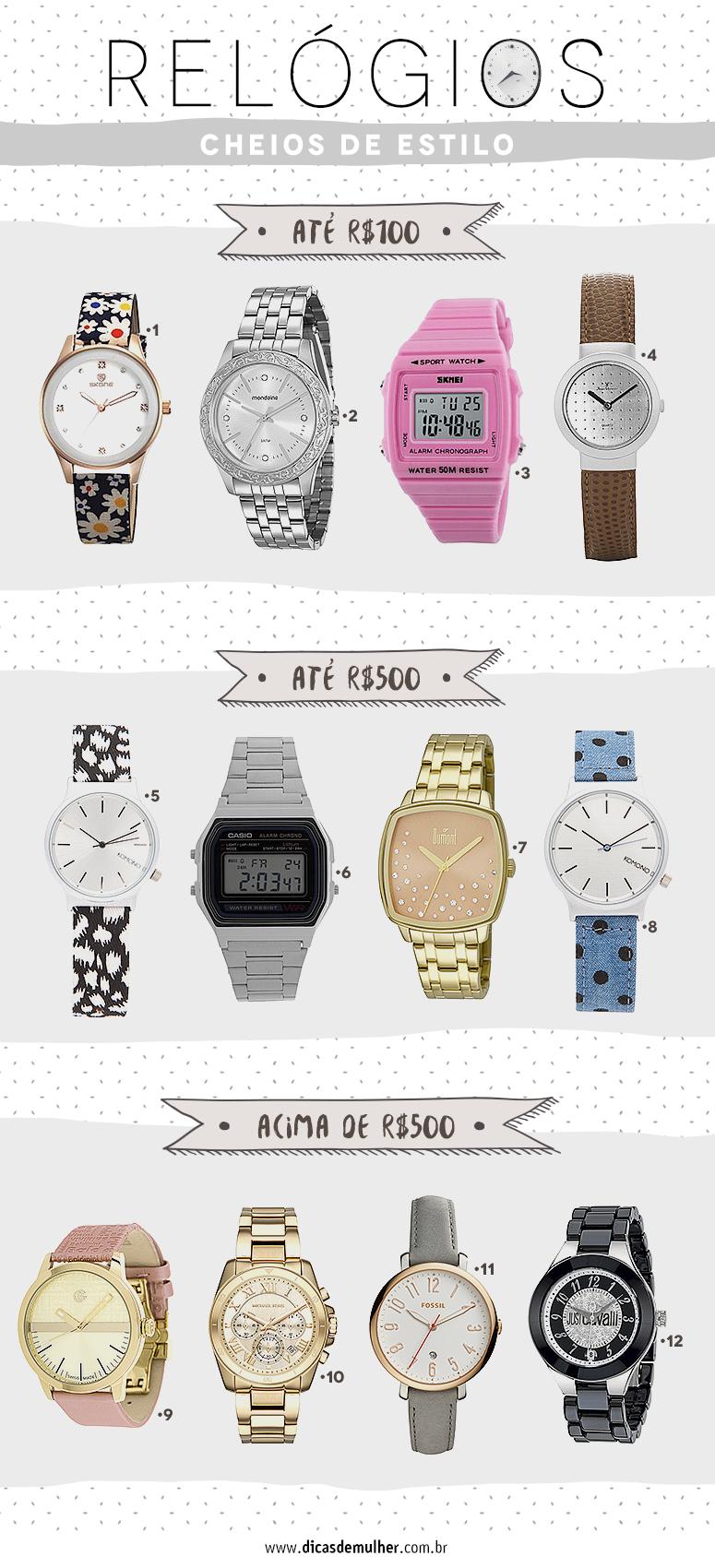 d83be53638c Relógios femininos  como combinar esse acessório elegante e funcional