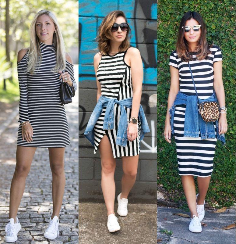 63a01a21b Vestido com tênis: saiba como usar essa combinação estilosa e ...