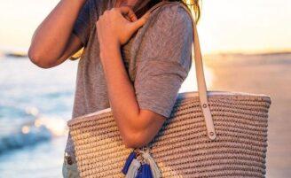 Bolsa de praia: um acessório indispensável nos looks de verão