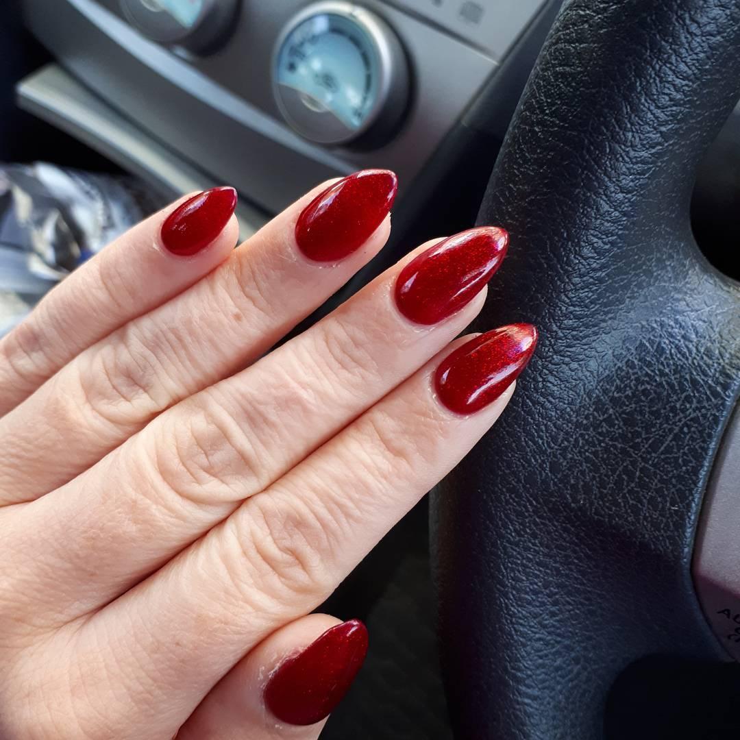 Unhas vermelhas 30 nail arts nesta cor que nunca sai de moda -> Decoracao Unhas Vermelhas