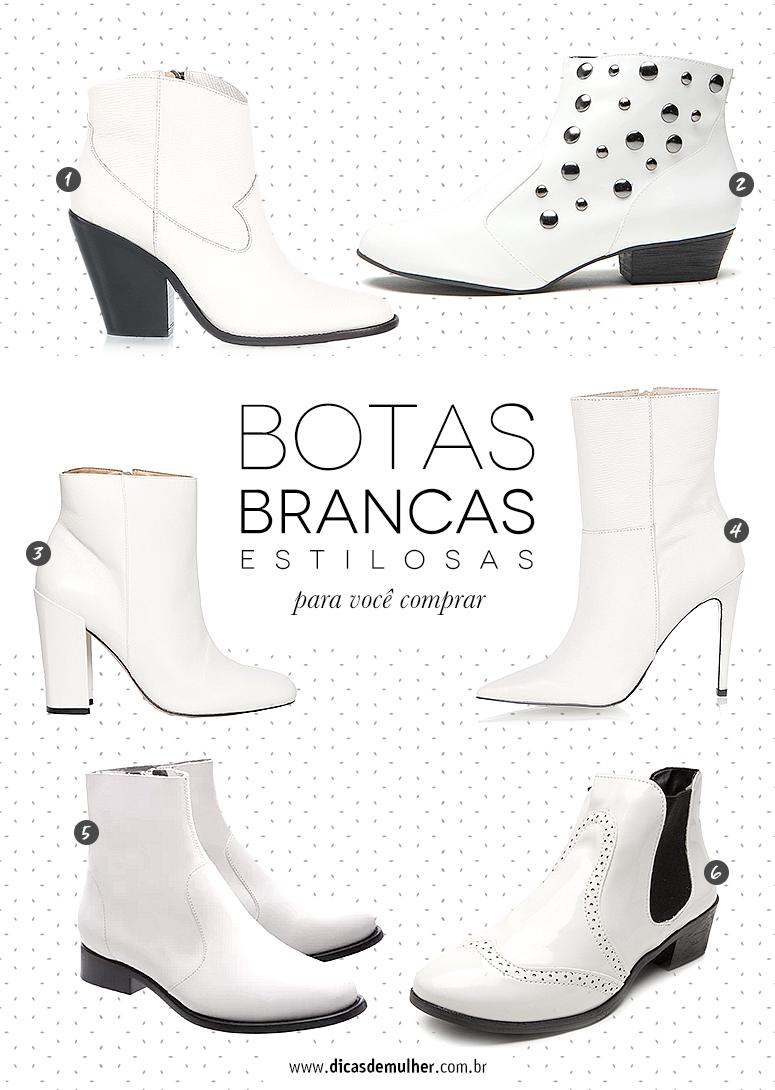 ba5802ba7a5 Bota branca  como usar o calçado queridinho do momento