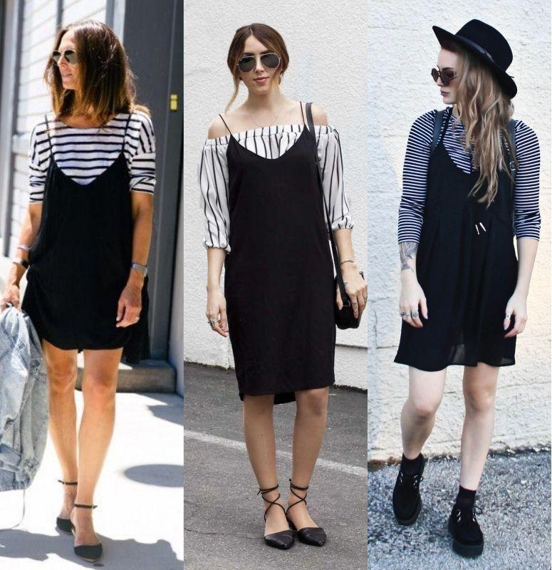 abe703960 Sobreposição de vestido com camiseta  saiba como adotar essa tendência