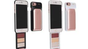 Marca lança capinha de celular com paleta de base e batons. Queremos!