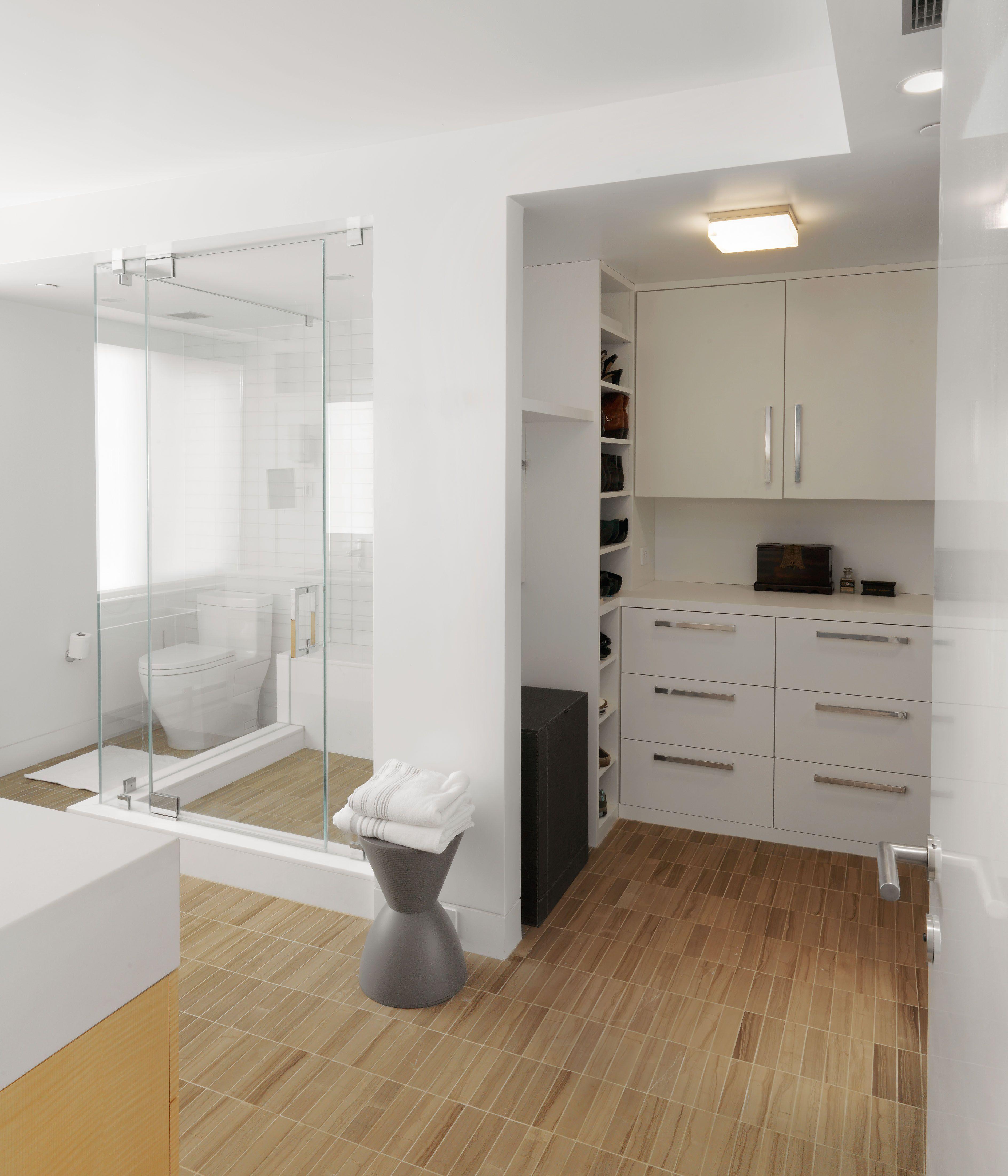 Conhecido Closet com banheiro: 50 inspirações para adotar essa integração HJ43