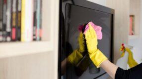 Como limpar a tela da TV sem danificar o aparelho