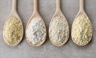 9 farinhas low carb para incluir no seu cardápio
