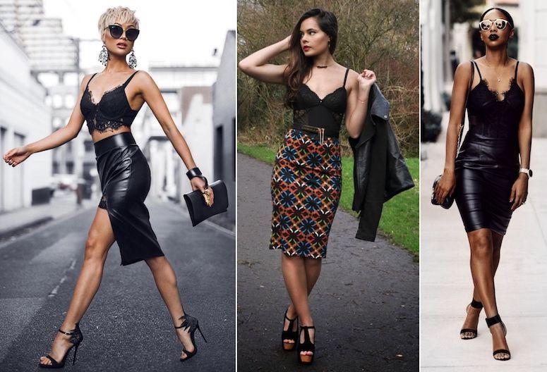 91f244b7f Lingerie à mostra no look  como compor visuais fashion e sexy na medida