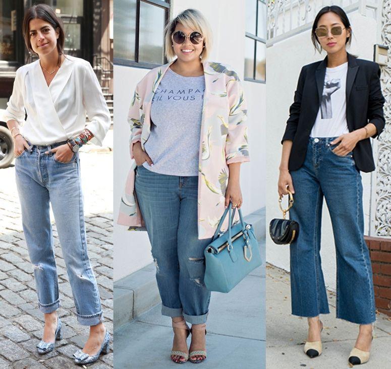 92d8d2d9915fd Mom jeans em looks para o trabalho. Foto  Reprodução   Man Repeller   Gabi  Fresh   Song of Style