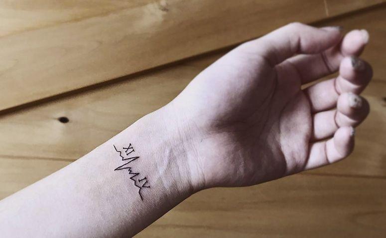 50 Tatuagens De Batimentos Cardíacos Para Você Demonstrar