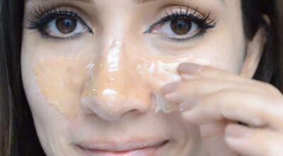 Máscara caseira de gelatina para eliminar cravos: aprenda como fazer
