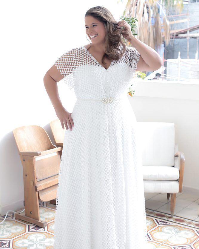 Vestidos de noiva mais simples