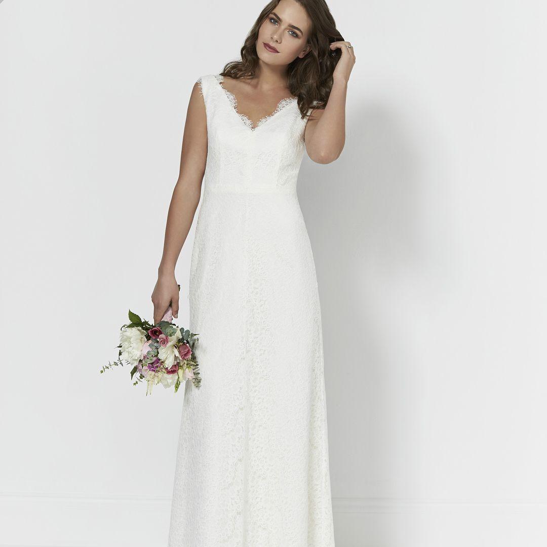 2d3fd25ae 80 vestidos de noiva simples para você se apaixonar