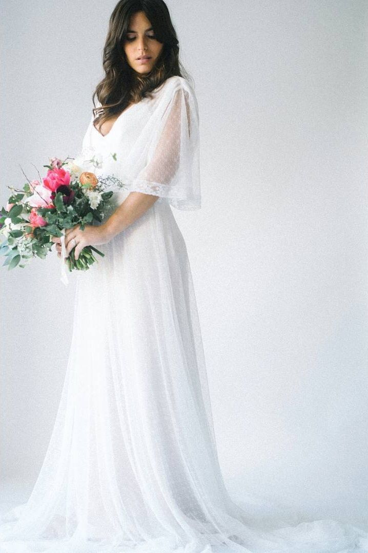f07f052bb1 80 vestidos de noiva simples para você se apaixonar