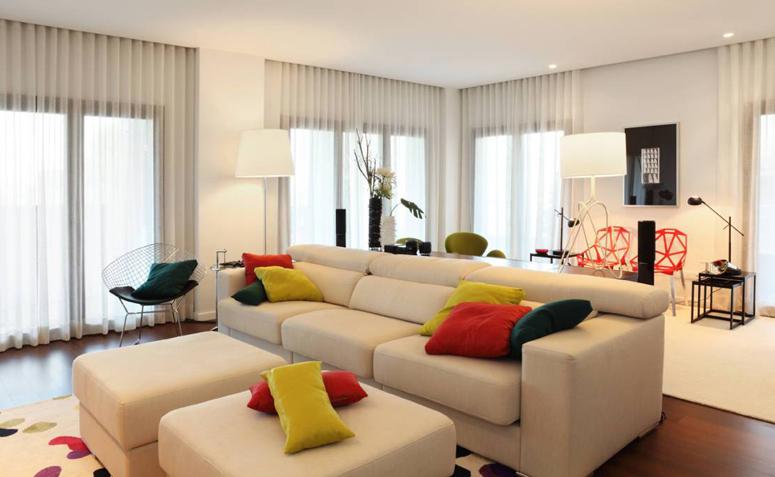 Cortinas para sala como escolher o modelo perfeito para voc for Como hacer cortinas para sala