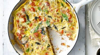 15 receitas de omelete de forno para um jantar prático e cheio de sabor