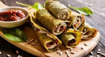 16 receitas de panqueca low carb para uma refeição prática e saborosa