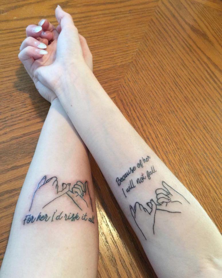 Tatuagens De Irmãs 52 Ideias Lindas Para Se Inspirar