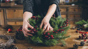 30 ideias econômicas e criativas para decorar a casa no Natal