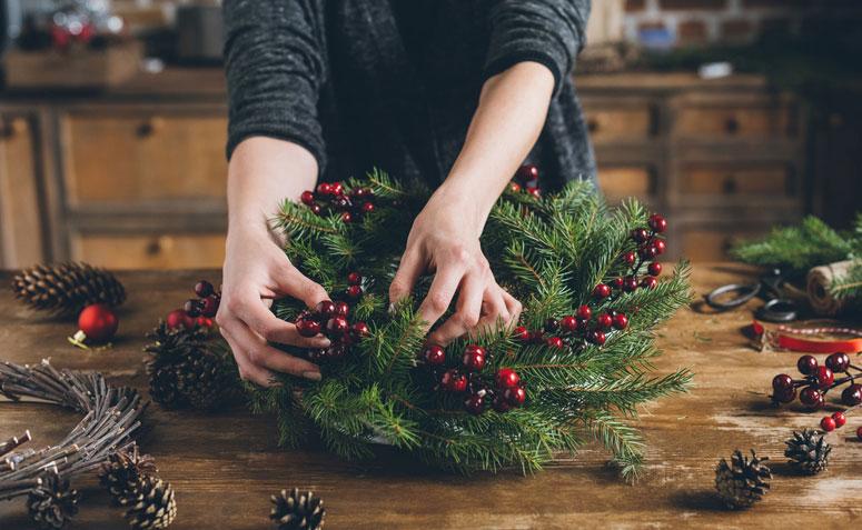 6ff2886de46e5 30 enfeites de Natal fáceis e baratos para fazer em casa  ATUALIZADO