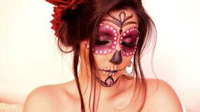 Maquiagem de caveira mexicana: 32 inspirações e tutoriais incríveis