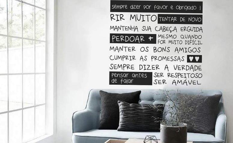 Adesivos De Boteco Para Personalizar ~ Adesivos de parede 30 ambientes incríveis com as paredes