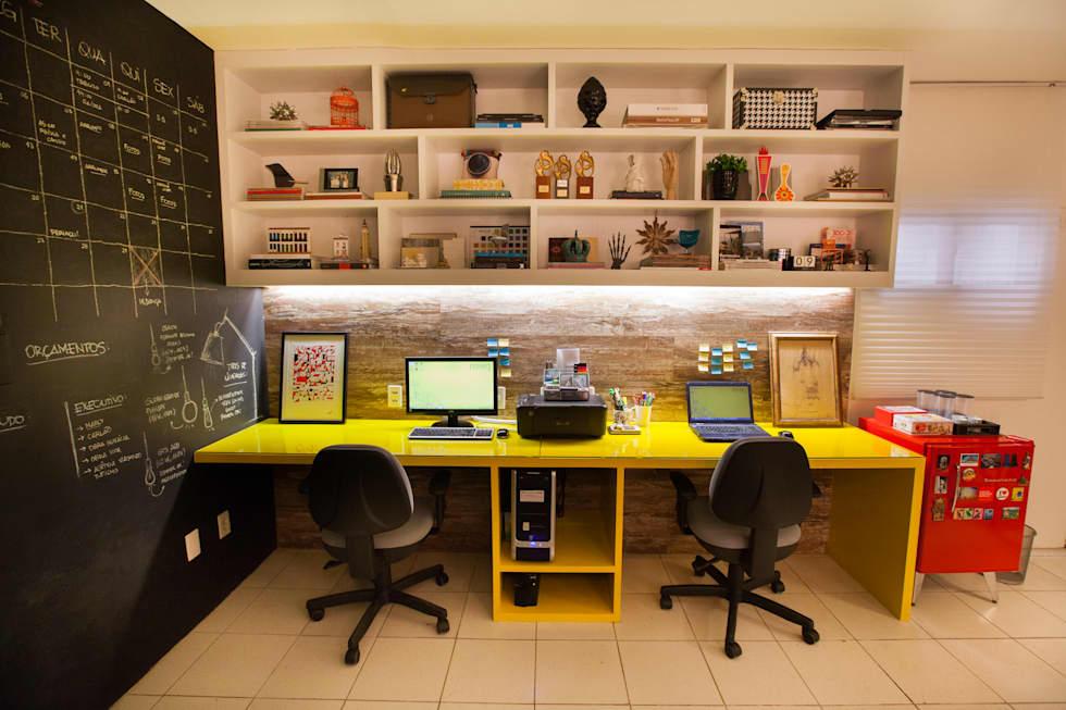 Decora o do home office 35 dicas para n o errar no for Industrial design startups