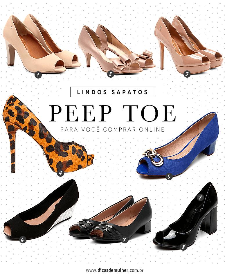 341e3629f3 Peep Toe  como usar o sapato que nunca sai de moda (FOTOS)