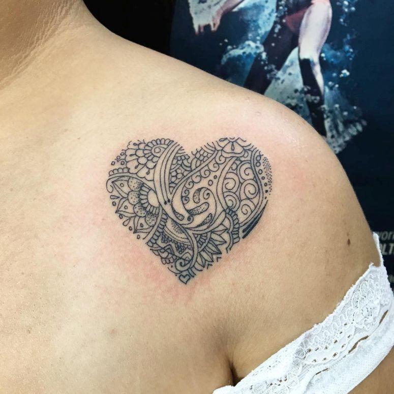 Tatuagens De Coração 65 Inspirações Que Vão Te Deixar Encantada